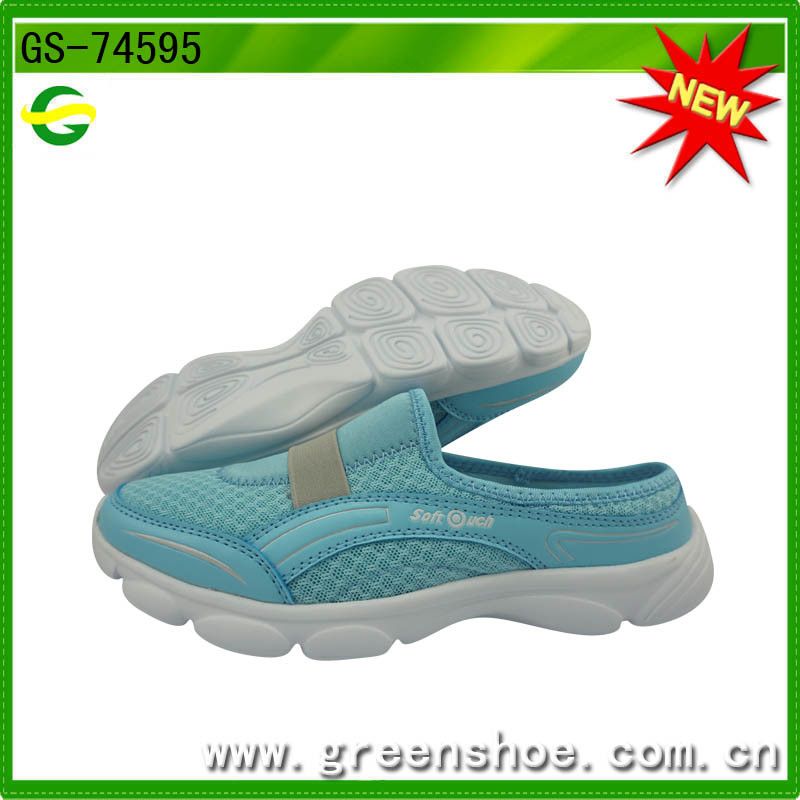 Good Selling Wholesale Lady Casual Sport Shoes (GS-74595)