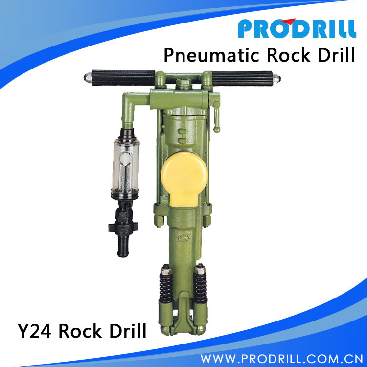 Portable Pneumatic/Hand Hold Rock Drill for Secondary Crushing