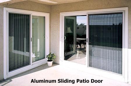 Double Glass Panel Aluminium Sliding Door (sliding Patio Door)