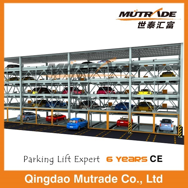 Psh Automatic Hydraulic Multi Floor Parking Lift System