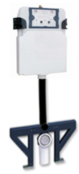 Watermark Bathroom Semi-Frame HDPE Toilet Concealed Cistern Sanitary Wares (G3004D)