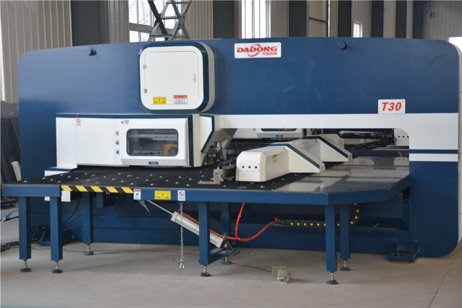 T30 CNC Turret Punching Machine for Thick Sheet Metal