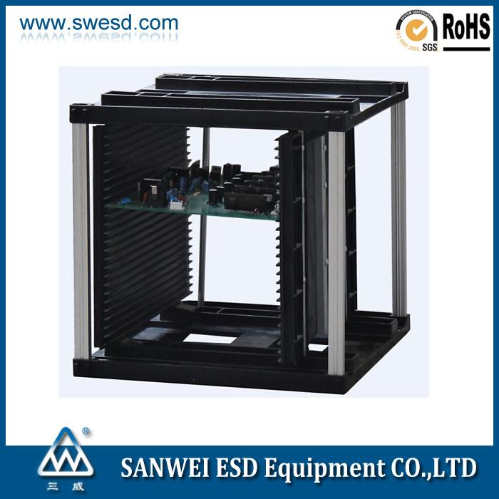 S Size SMT Antistatic ESD PCB Magzine Rack (3W-9805301A-1)