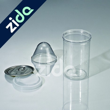 Clear 650ml 38g Pet Plastic Empty Bottle Plastic Spray Bottle