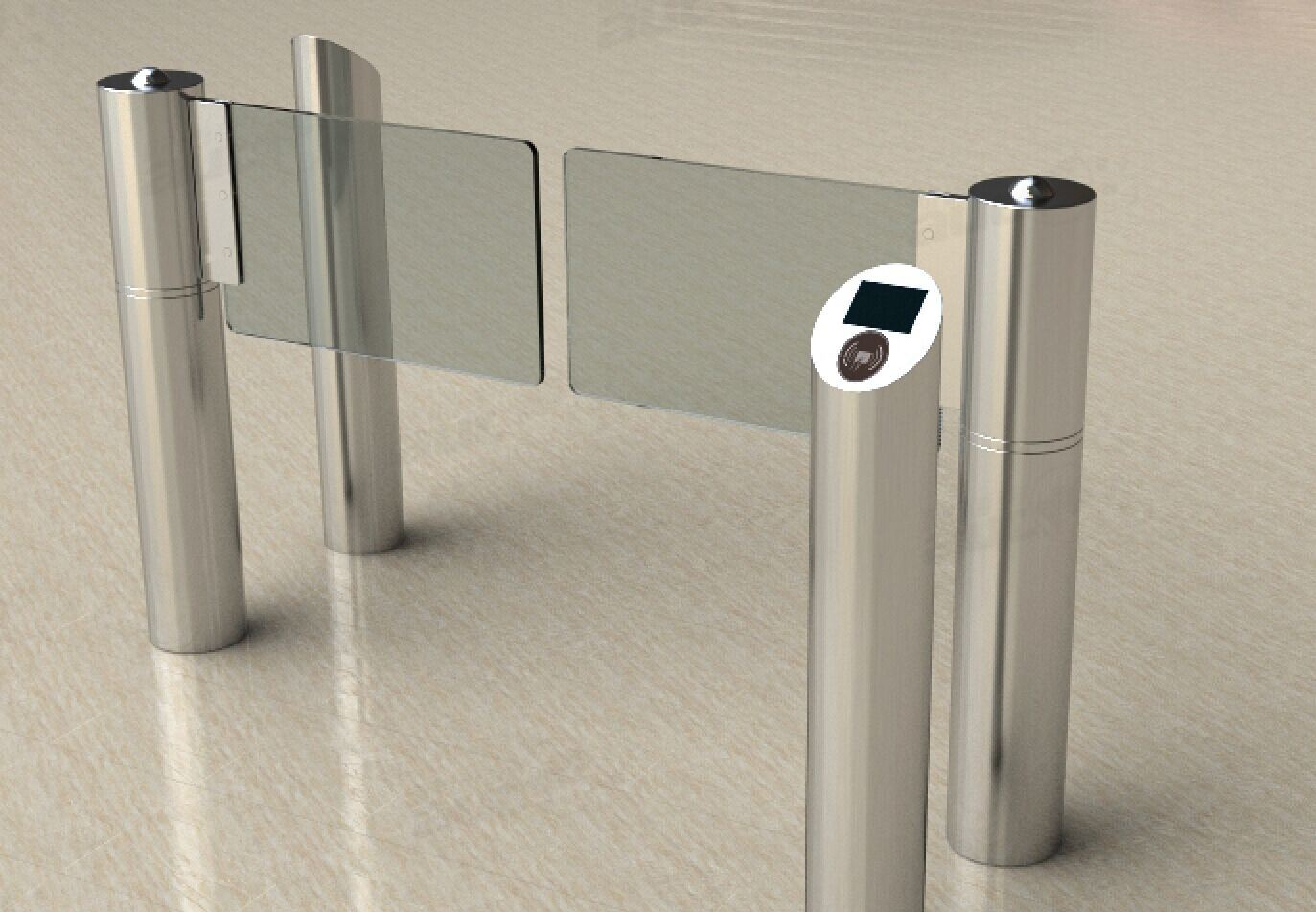 Access Control Full Automatic Swing Barrier Gate Th-Sbg201