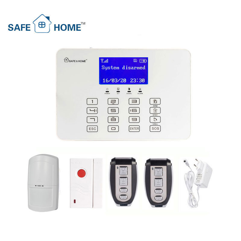APP Control GSM Home Burglar Security Alarm with Control Panel