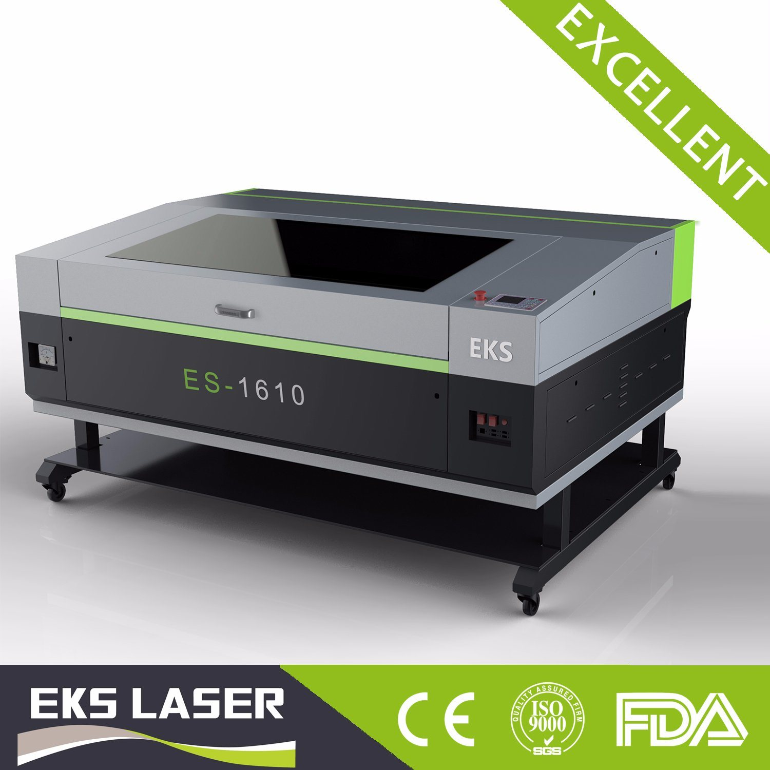 Wood Acrylic Nonmetal CO2 Laser Cutting and Engraving Machine for Sale Es-1610