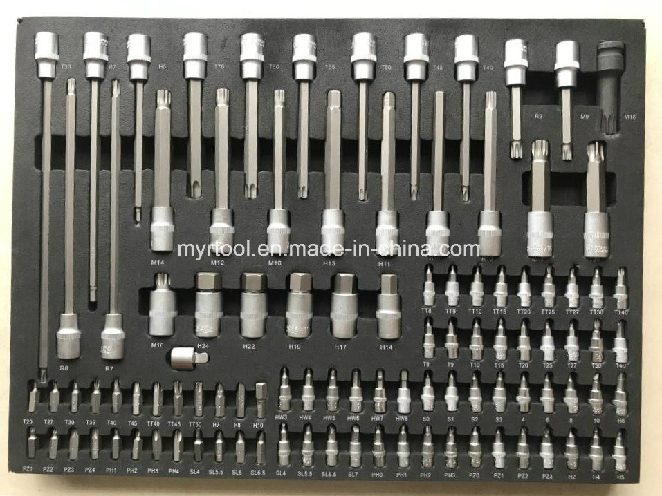 249PCS Professional 7drawers Trolley Tool Set in EVA Packing (FY249A-E)