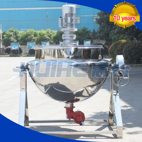 Steam Heating Jacketed Cooking Mixer (50-1000L)