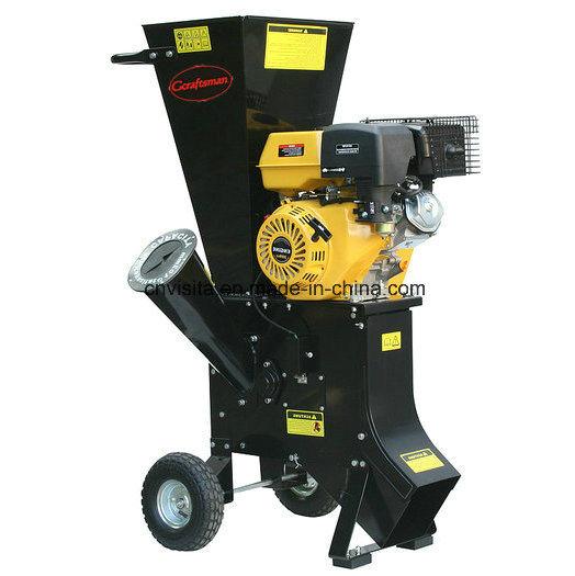 6.5HP Gasoline Powered Wood Chipping Machine