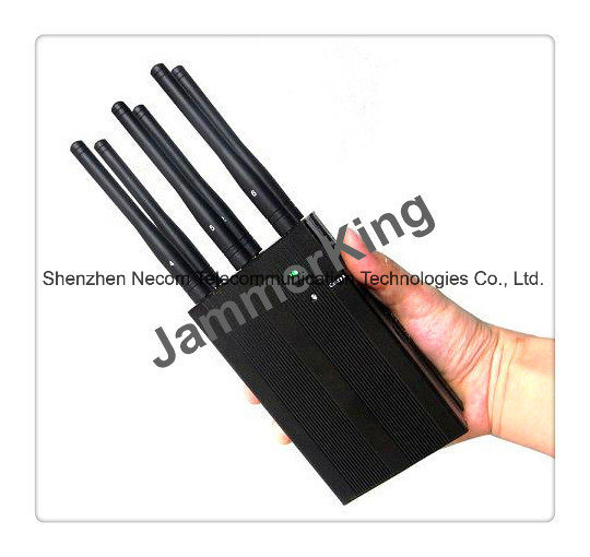 China Jamming for 2g 3G 2.4G+Spycamera-6 Antennas Blockers - China Multi-Band Signal Blockers, Portable Six Antennas Jammers
