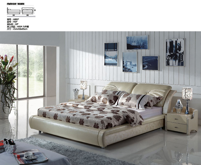 China Bedroom Furniture Living Room Furniture Beds A885 China Bedroom S