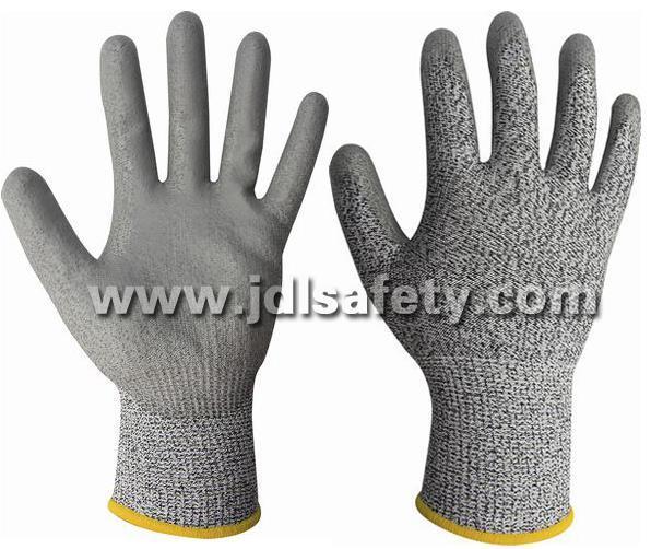 Anti-Cut Work Glove with PU Coating (PD8045)