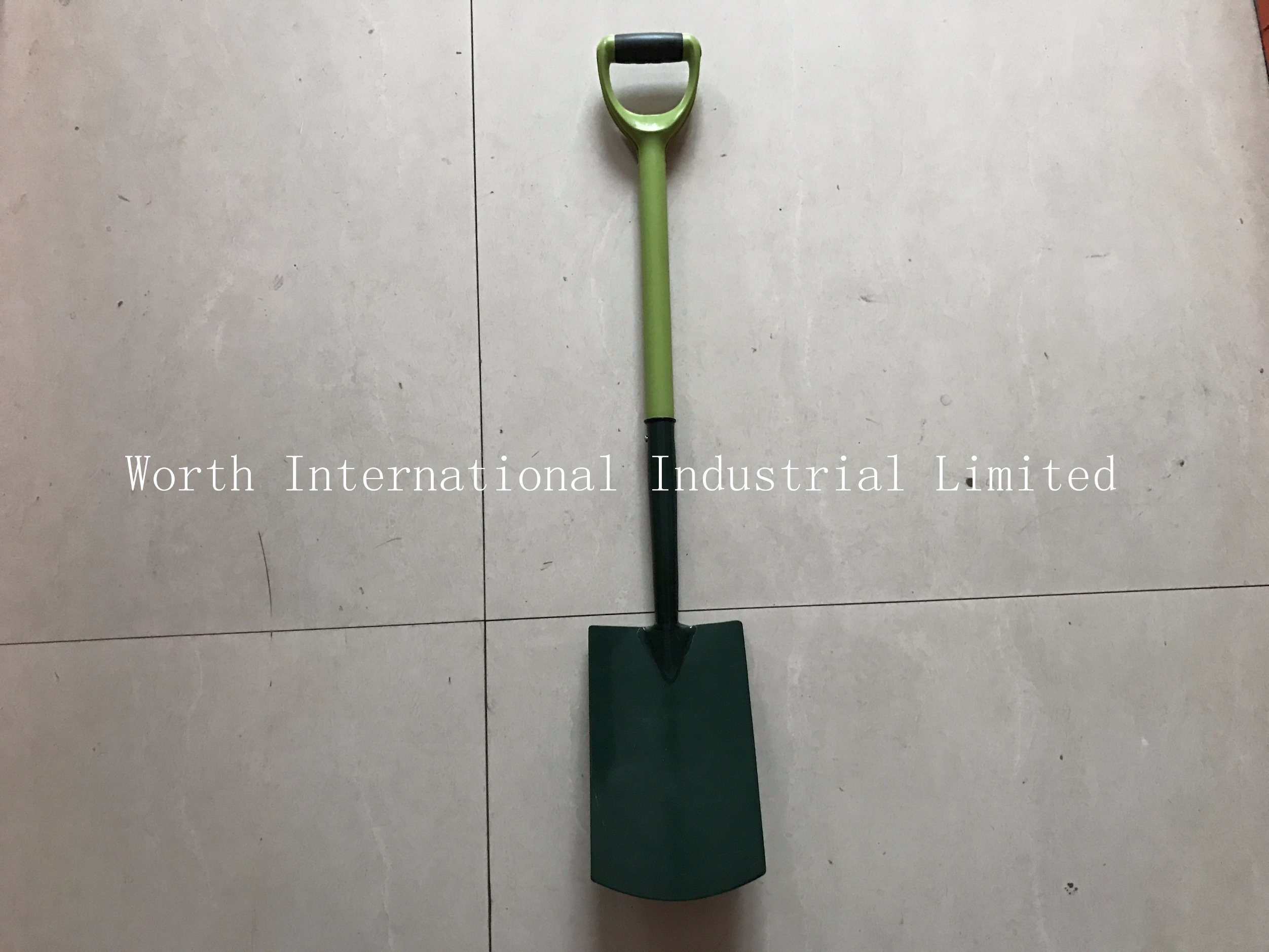 Germany Type Iron Fiberglass Handle Spade