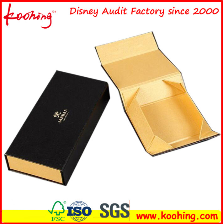 Cloth Box Rigid Foldable Paper Gift Box (KH-P0509)