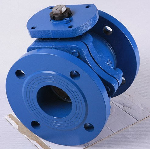Cast Iron Ball Valve, Flanged Type, DIN Pn16