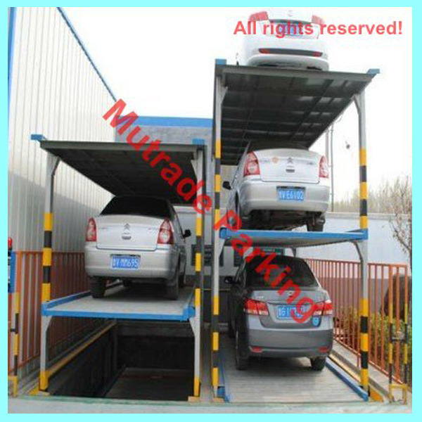 Mutrade Parking Car Vehicle Automobile Pit Parking Lift System Basement Garage Underground Parking