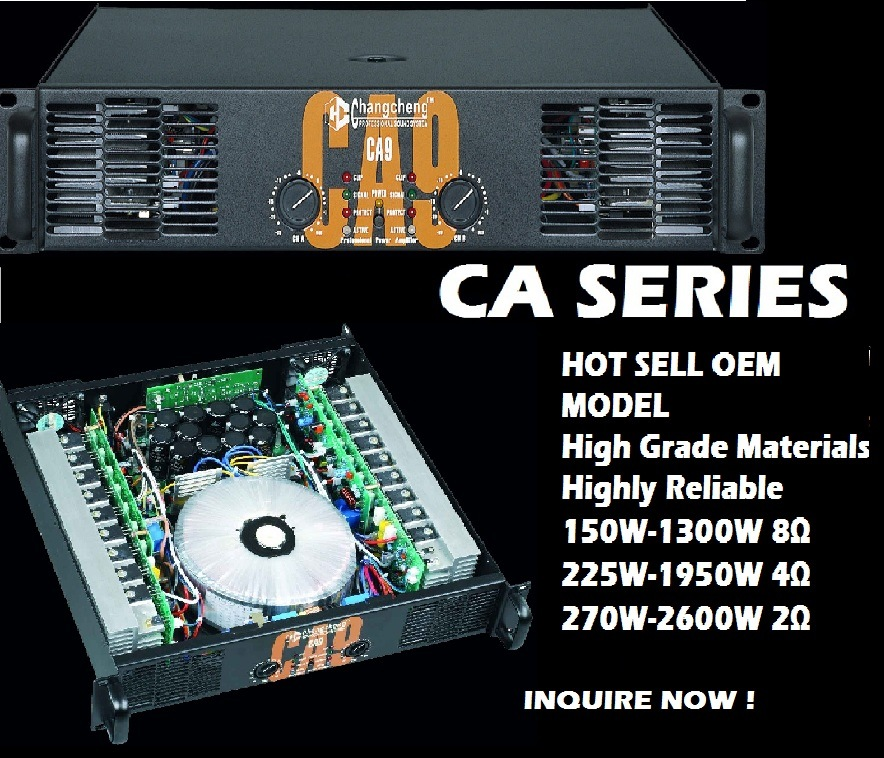 China Professional High Power Amplifier CA 20 Photos
