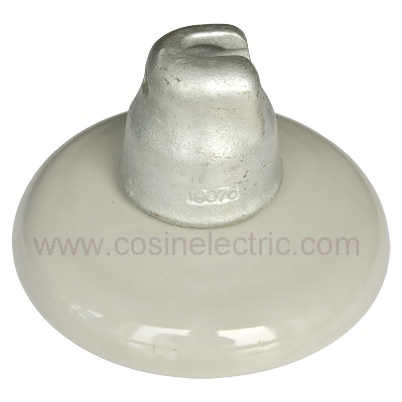 China Porcelain Suspension Disc Insulator 52 3 52 5 52 8 Ansi Approved Photos Pictures