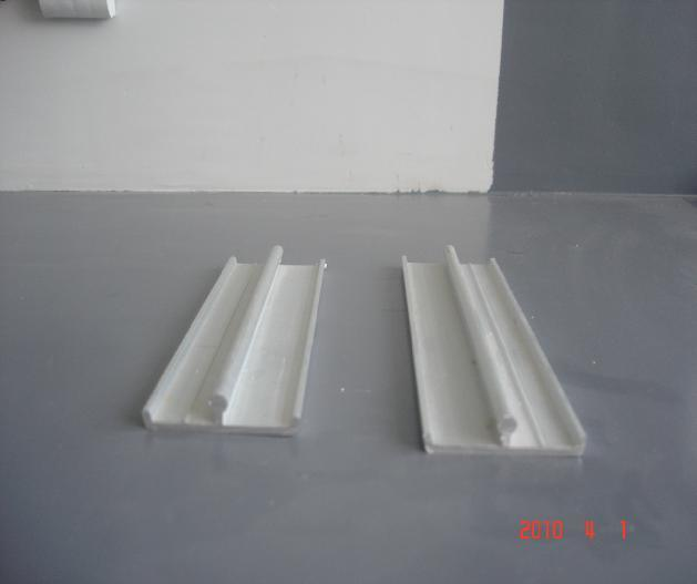 China Aluminum Sash Track For PVC Sliding Door China Aluminum