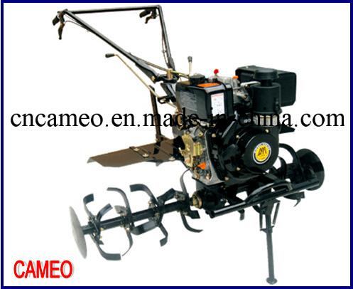 Cp1050 6HP 4.4kw Diesel Tiller Two Wheel Tiller Mini Tiller Garden Tiller Farm Tiller Rotary Tiller Diesel Power Tiller
