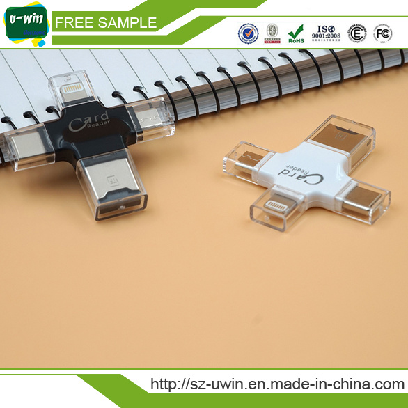 4 in 1 iPhone/Android /Type-C USB Stick