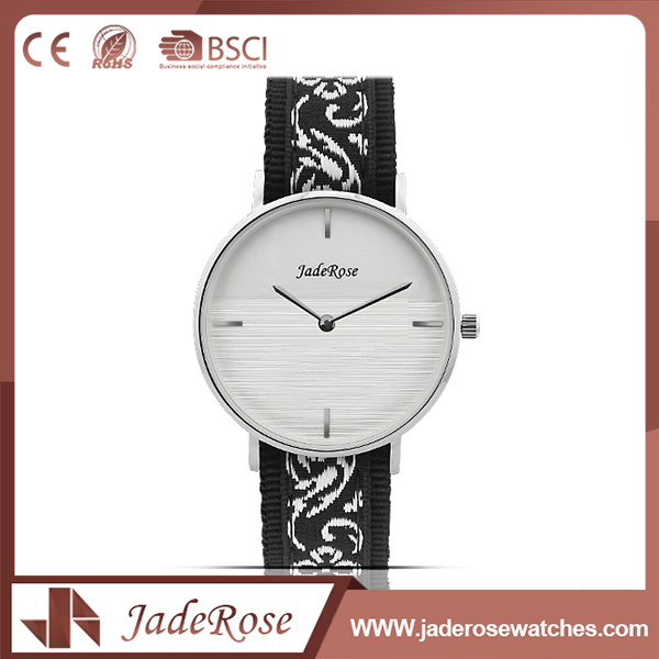 Mineral Glass Stainless Steel Ladies Quartz Watch