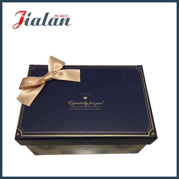 """Especially for You"" High Quality Gift Paper Box with Bows"
