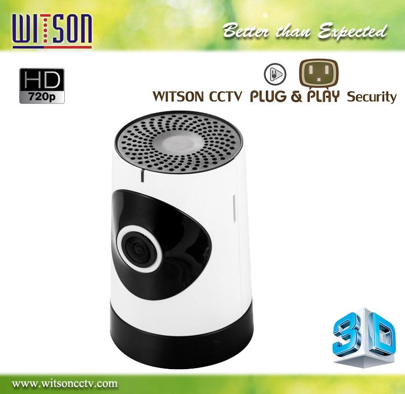 CCTV 180 Degree WiFi Wireless Fisheye Panoramic Plug and Play IP Network Camera