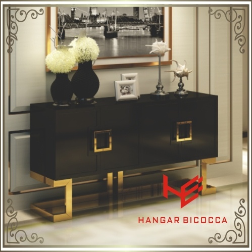 Coffee Table (RS160602) Sideboard Stainless Steel Furniture Home Furniture Hotel Furniture Modern Furniture Table Console Table Tea Table Side Table