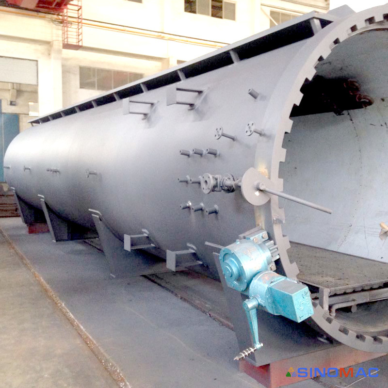 1500X3000mm CE Approved Safety Composite Bonding Auto Clave (SN-CGF1530)