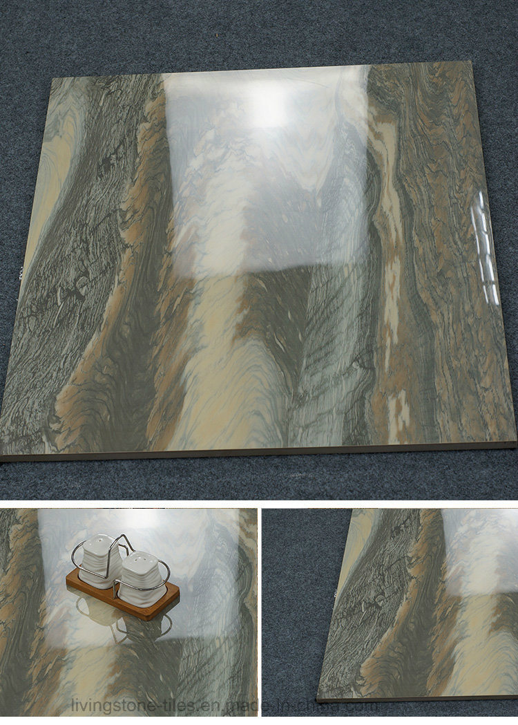 Foshan Factory New Design Marble Copy Stone Porcelain Floor Tile