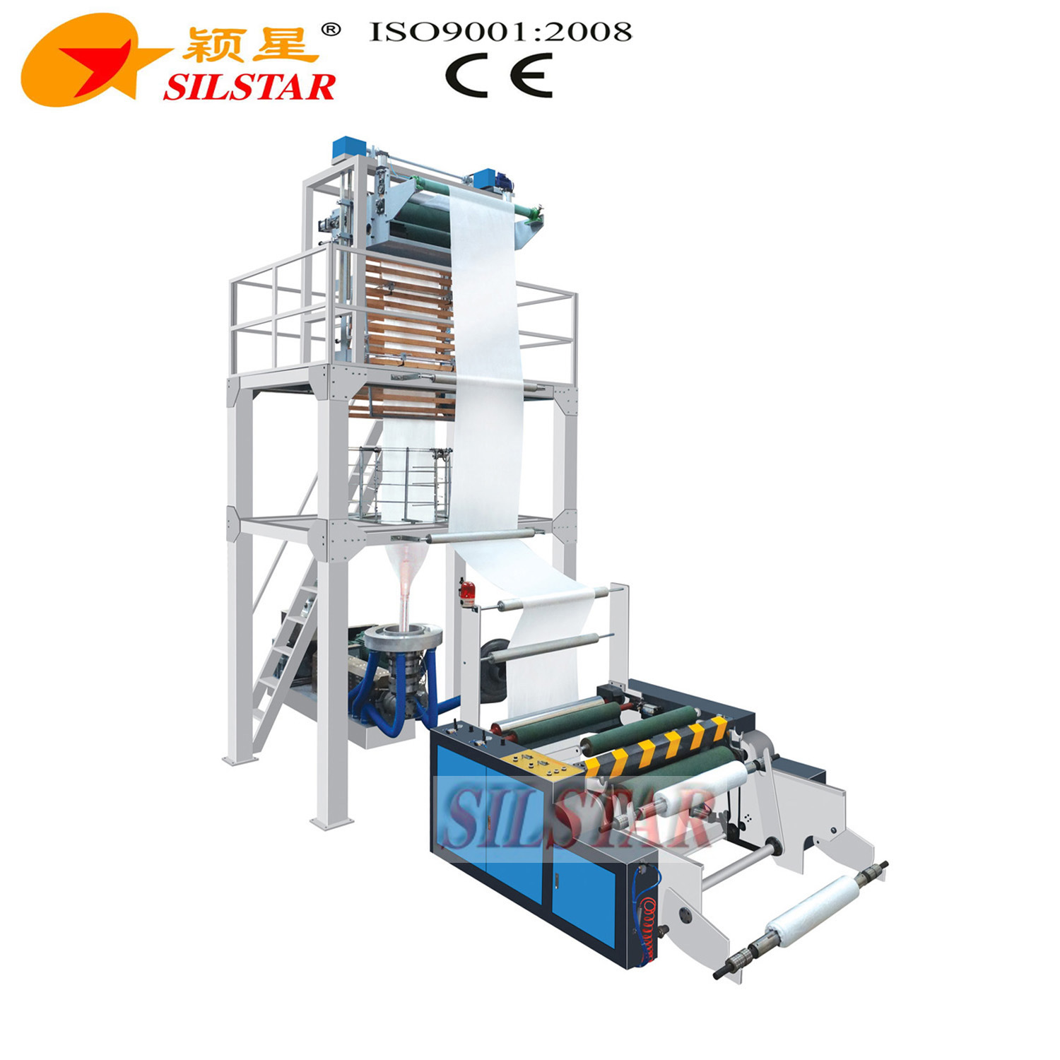 Film Blowing Machine with Auto Roll Changer