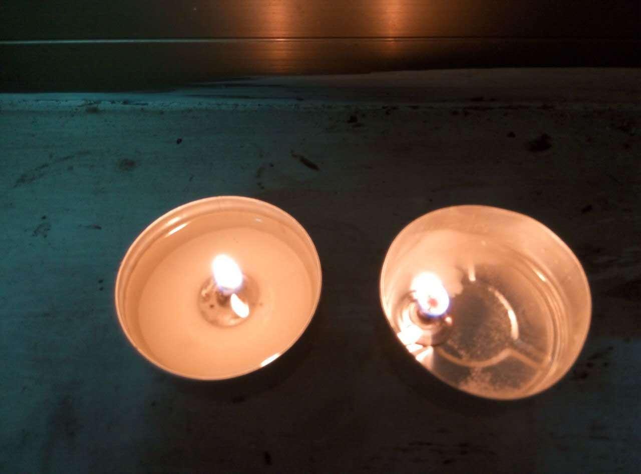 30PCS Pure Paraffin Wax Tealight Candle Set
