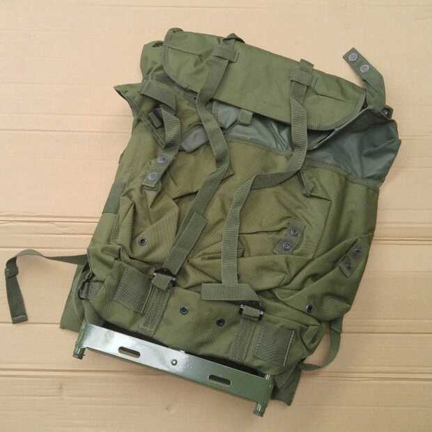 Tactical Metal-Form Multifunctional Military Green Alivebackpack
