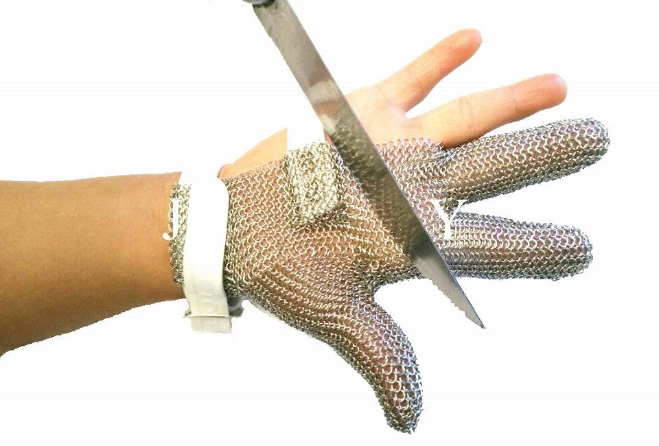 Chain Mail Gloves for Butcher/Stainless Steel Chain Mail Gloves/Ring Mesh Gloves