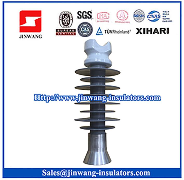 28kv Composite Line Post Insulators with Porcelain Head with Xihari