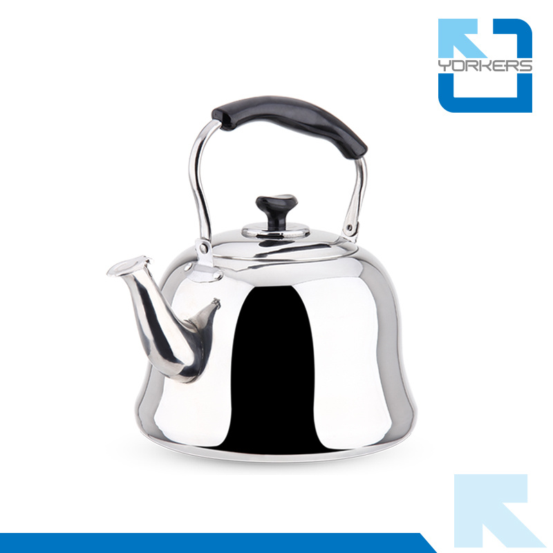 4L/5L/6L Stainless Steel Non-Electric Flat Bottom Water Tea Kettle