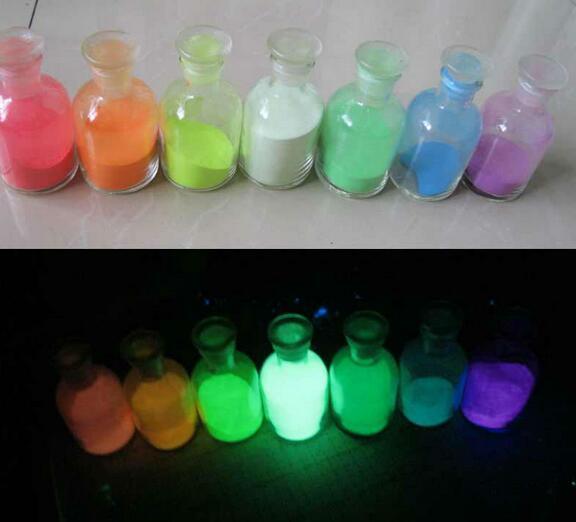 strontium aluminate powder pigments