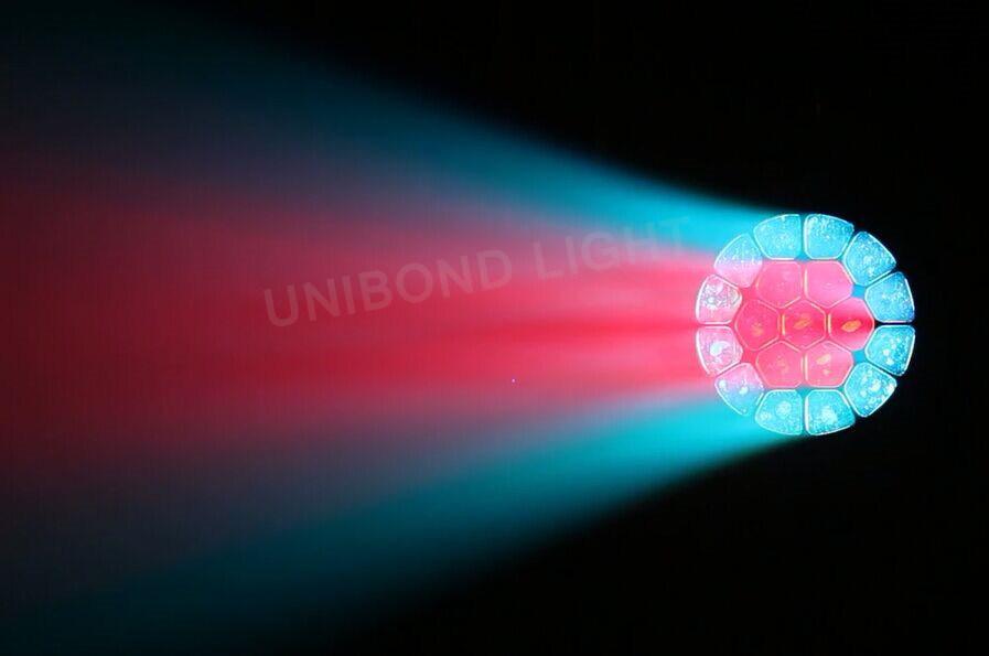 Full Color Stage Light 19X15W LED Bulb Lighting Big Bee Eye Moving Head Light