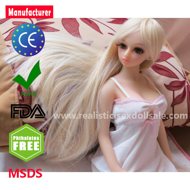65cm Real Silicone Sex Dolls for Man with Skeleton