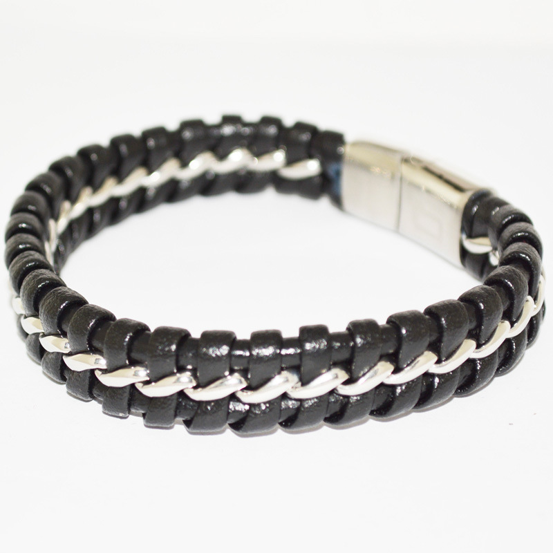 Stlb-009 2017 Lasted Fashion Mens Leather Accessories Jewelry