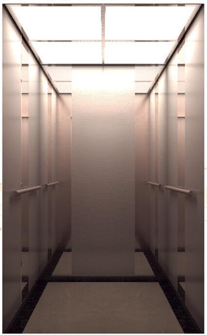 Rose-Gold St. St. Passenger Elevator (ALD-KC013)