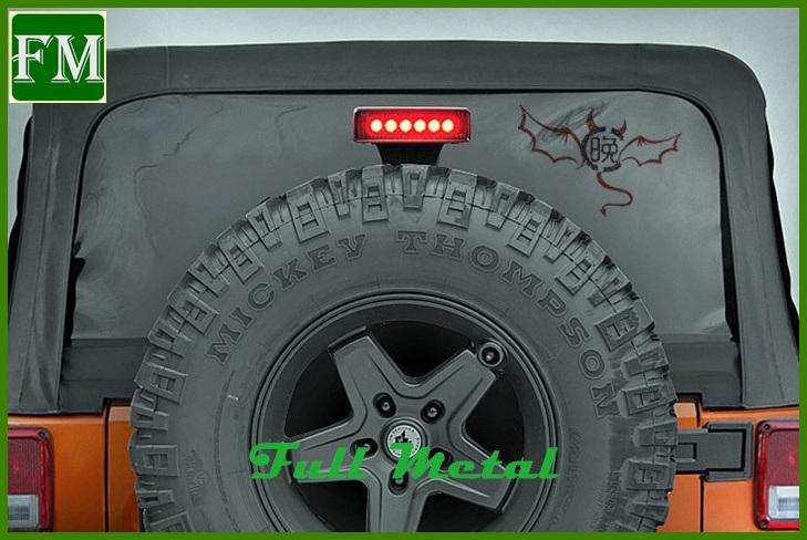 Car Exterior Accessories Ce LED Third Brake Light for Jeep Wrangler
