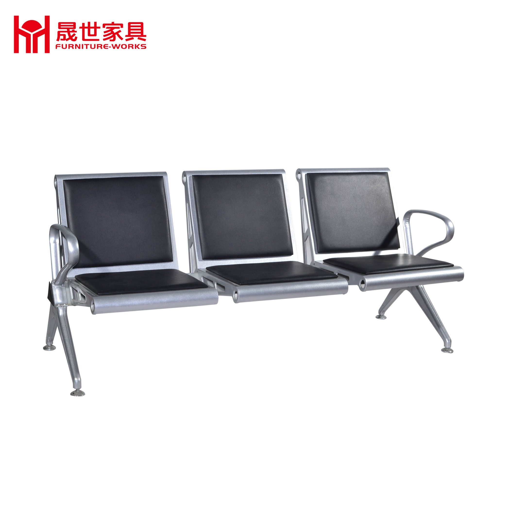 China Cheap Price Hospital Armless ChairSalon Reception Chairs - Waiting chairs for salon