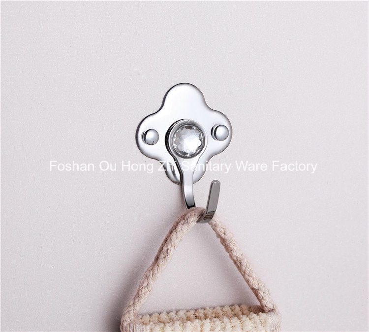 Stainless Steel Single Coat Hanger for Bathroom