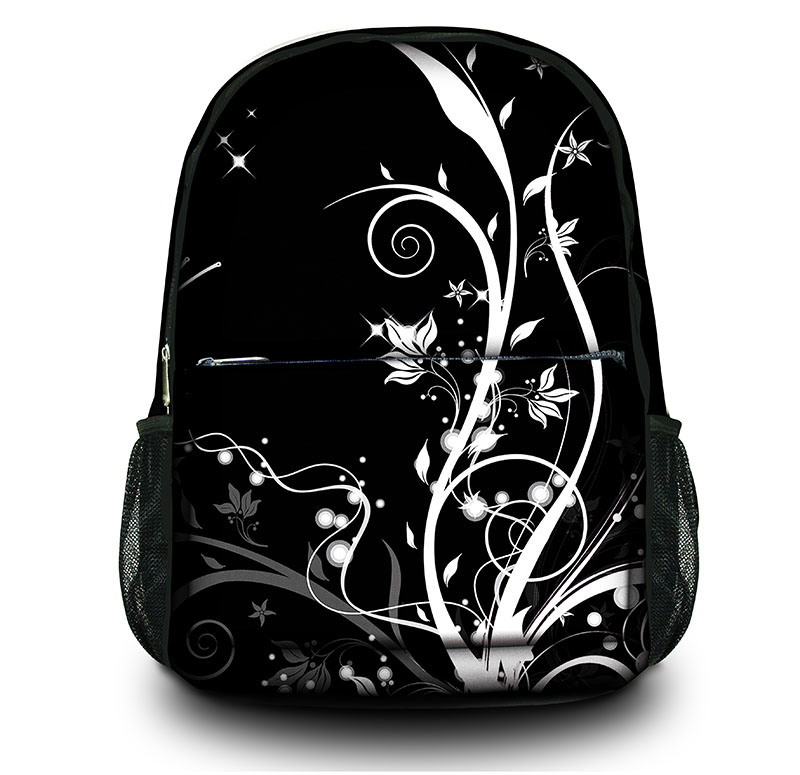 Women Canvas Travel Bags Backpack Girl′s School Bag