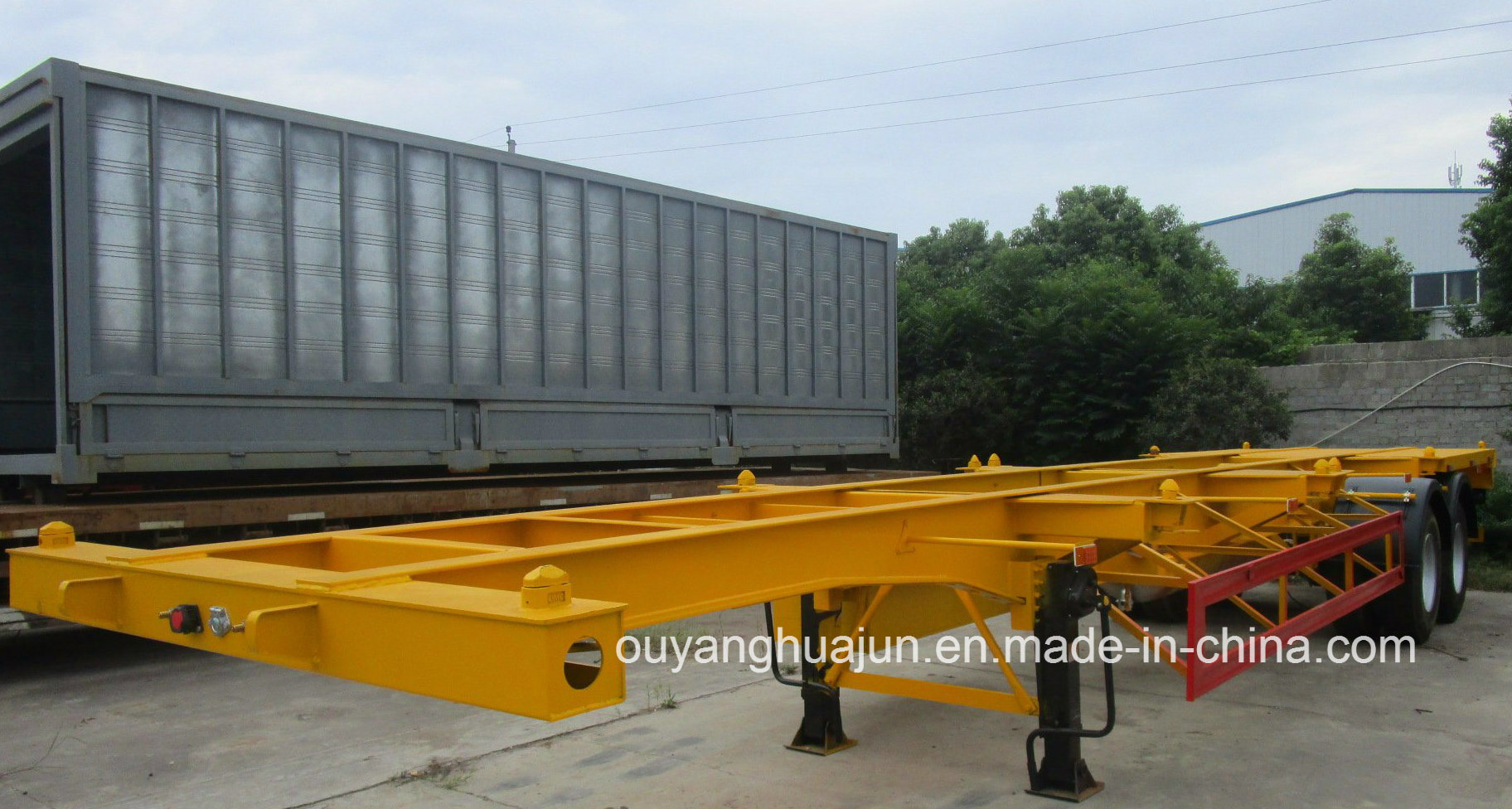 40 Feet Skeleton Container Semitrailer