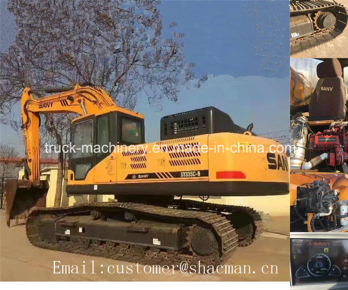 Sany Sy335c-9h Excavator with Good Quality