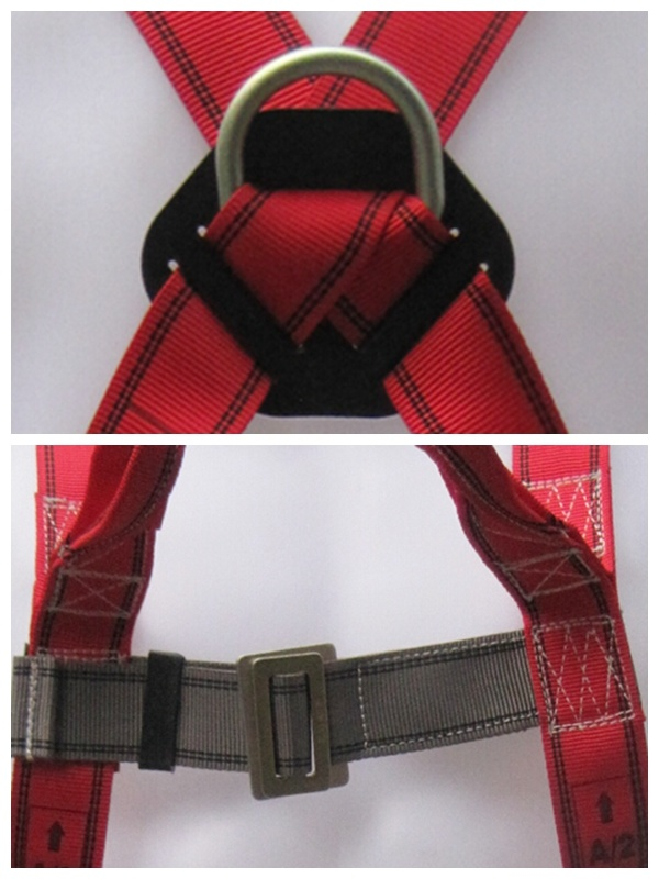 Hangzhou Hoater 3-Point Safety Belt Full Body Harness for Sale